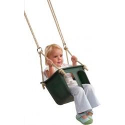 Asiento bebé con cuerdas Verde